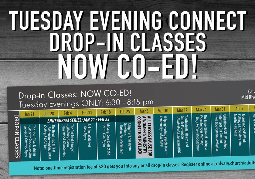 MR | Tuesday Co-Ed Drop-In Classes