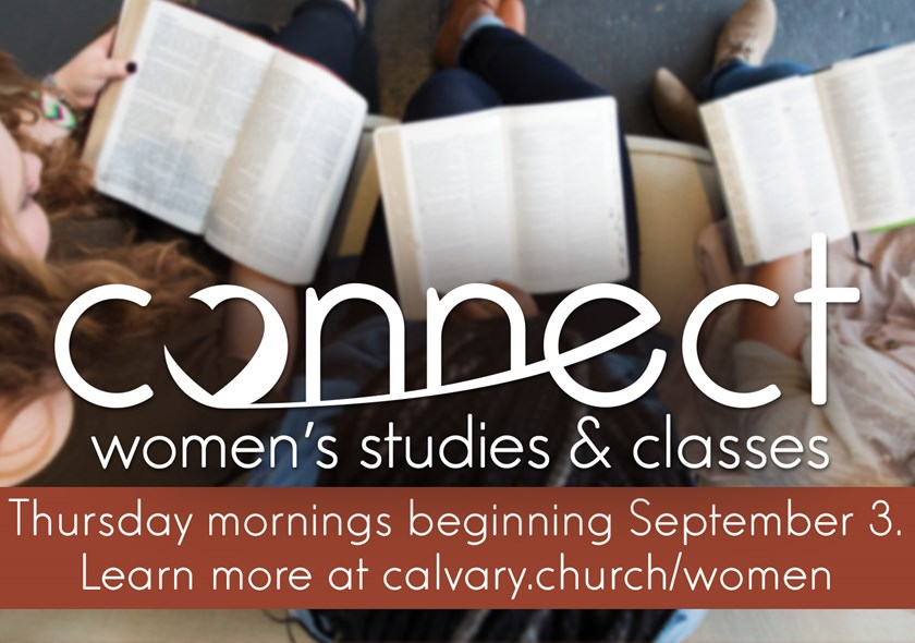 MR | Women's Connect Classes & Studies - Thursday Morning Fall 2020
